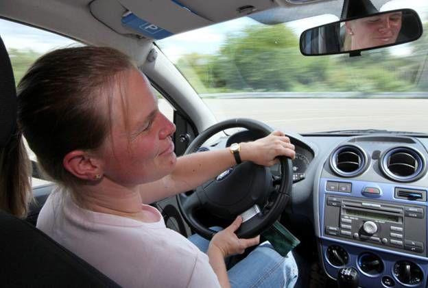 Conduite Ford par des aveugles