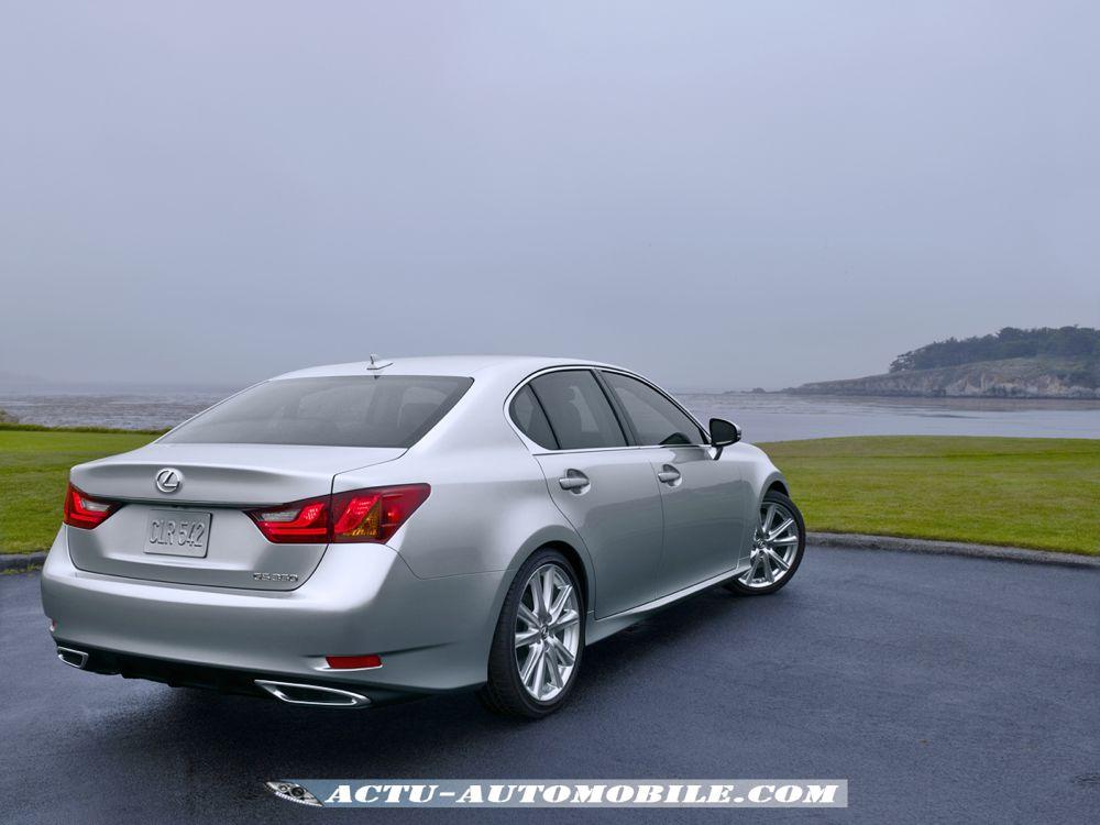 Nouvelle Lexus GS 350