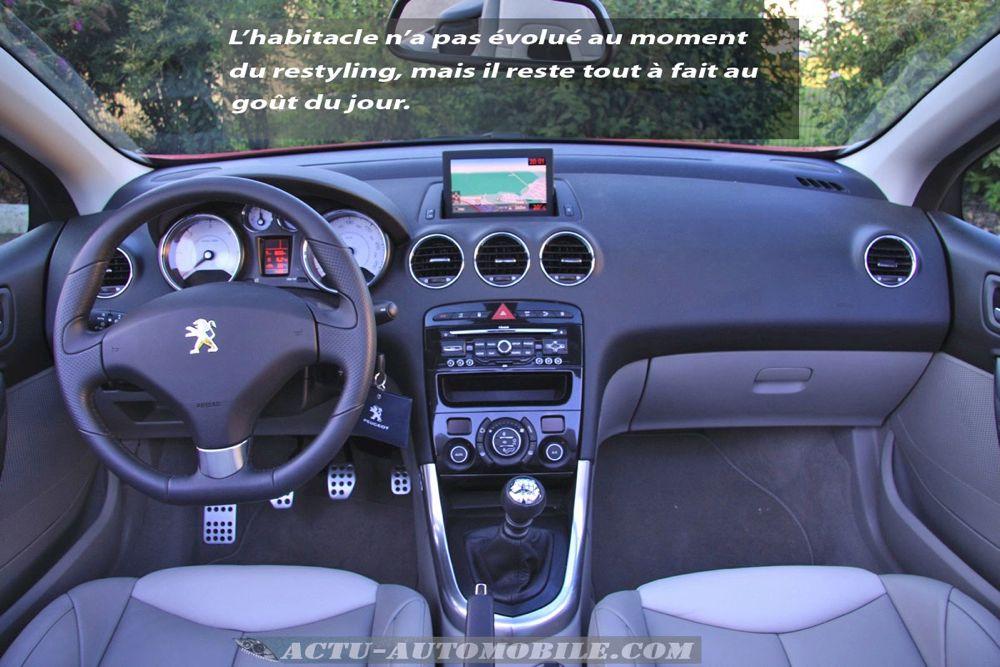 Peugeot 308 CC restylée