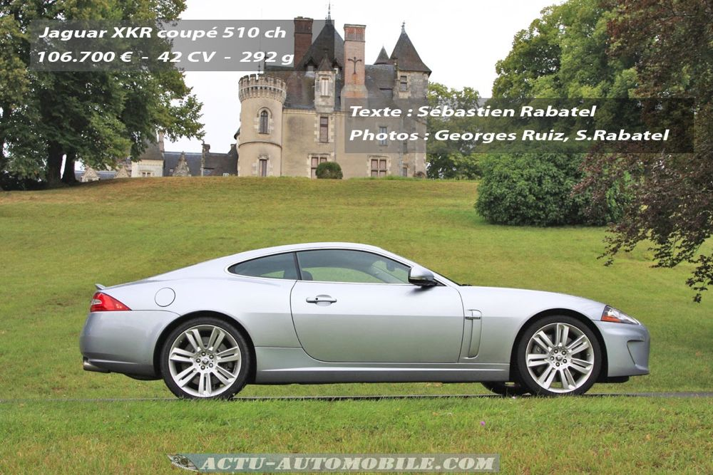 essai jaguar xkr 510 ch le r gne du compresseur actu automobile. Black Bedroom Furniture Sets. Home Design Ideas