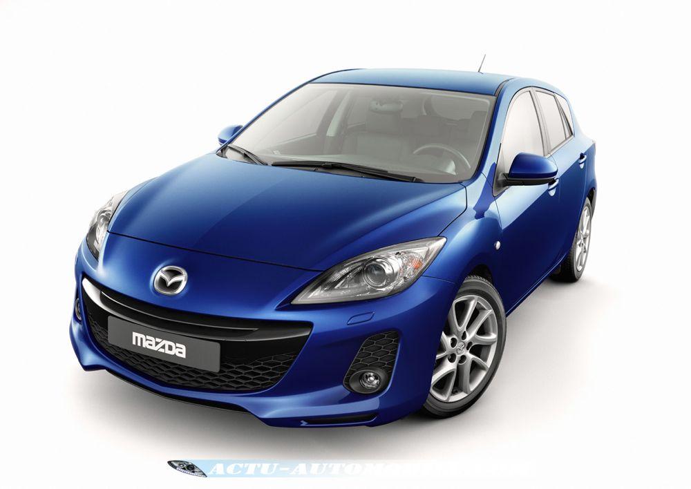 Mazda 3 restylée