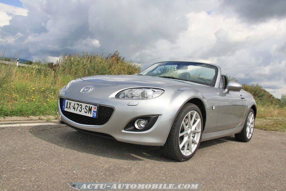 essai mazda mx 5 roadster coup 2 0 mzr 160 actu automobile. Black Bedroom Furniture Sets. Home Design Ideas