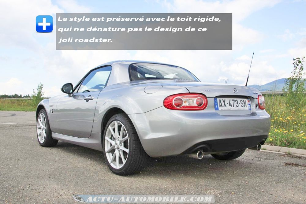 Mazda MX-5 Roadster Coupé 2.0 MZR 160 ch BVA