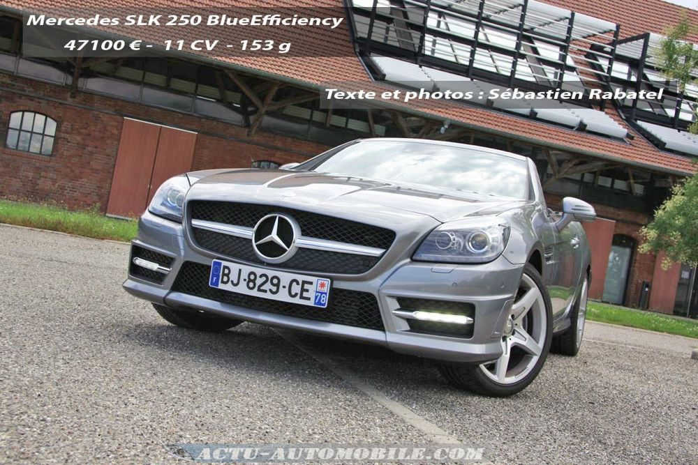 Mercedes SLK_250 BlueEfficiency