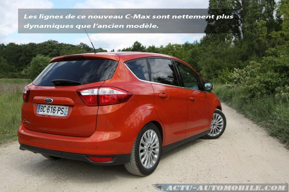 essai ford c max 1 6 tdci 115 titanium plus dynamique actu automobile. Black Bedroom Furniture Sets. Home Design Ideas