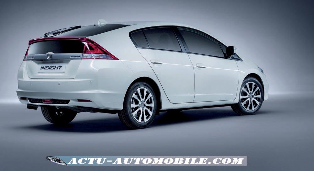 Honda Insight restylée