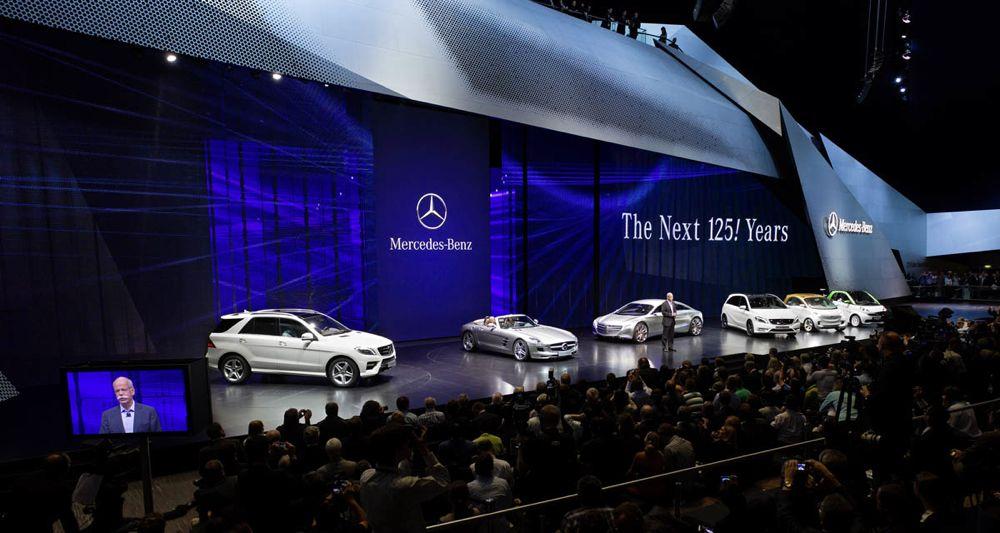 Mercedes-Benz au Salon de Francfort 2011