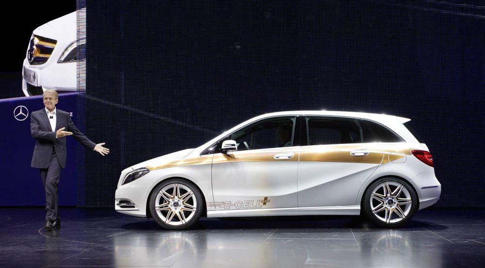 Mercedes-Benz Cars auf der IAA 2011 in Frankfurt: was uns heute