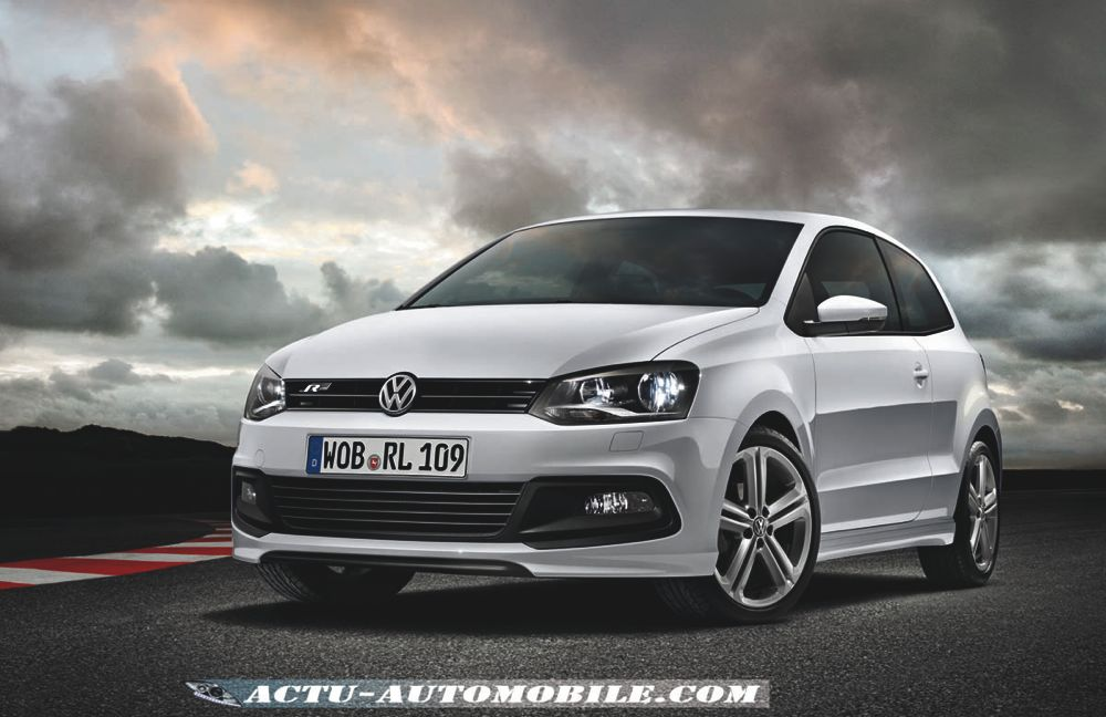 volkswagen polo r line look sport pour une nouvelle. Black Bedroom Furniture Sets. Home Design Ideas