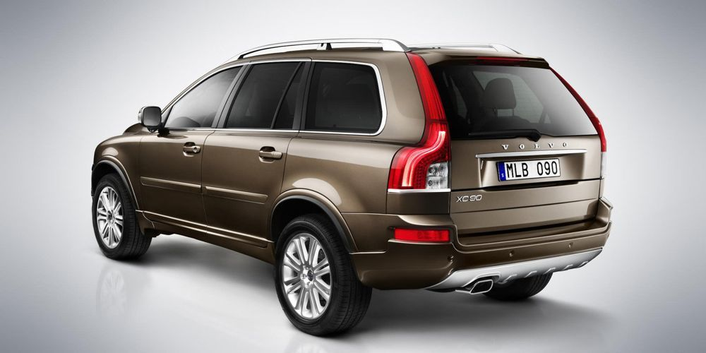 de l g res modifications sur le volvo xc90 actu automobile. Black Bedroom Furniture Sets. Home Design Ideas