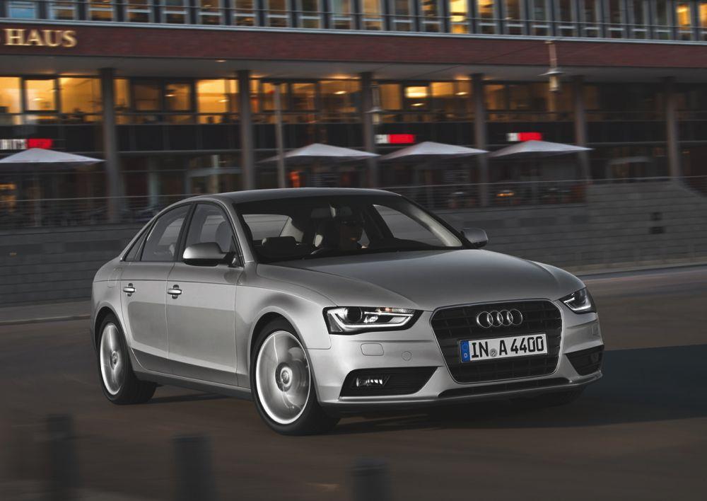 Audi A4 restylée