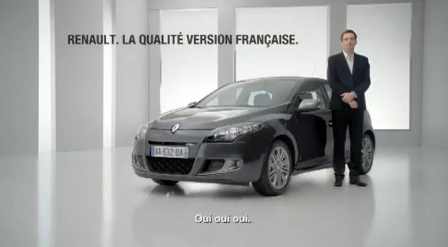 Publicité Mégane