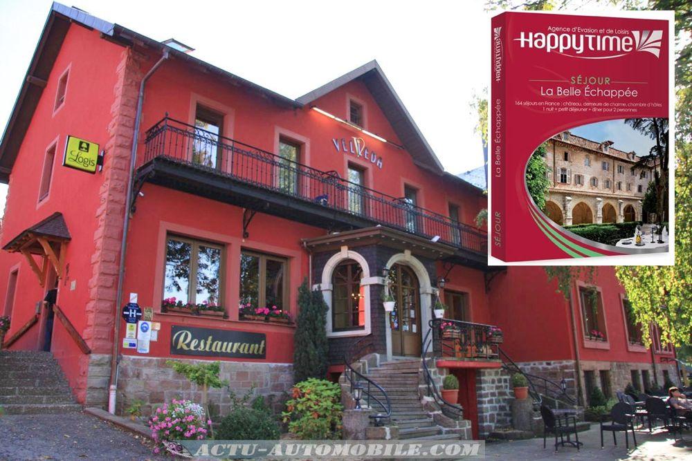 Hôtel-Restaurant le Velleda à Grandfontaine