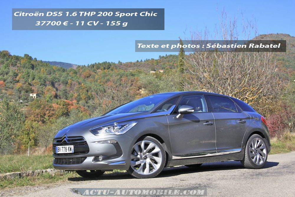 Citroën DS5 THP 200 Sport Chic