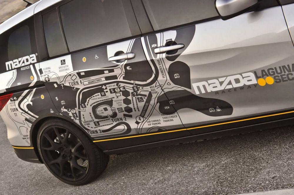 Mazda 5 de Laguna SECA