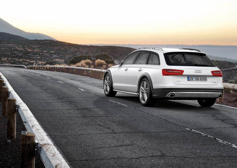 Audi A6 Allroad Quattro 2012