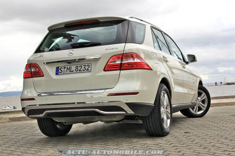Mercedes Classe M 350 4Matic BlueEfficiency
