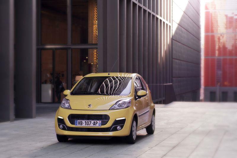 Peugeot 107 restylée
