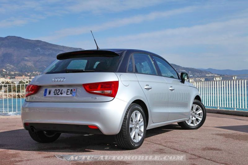 essai audi a1 sportback 1 6 tdi 105 et 1 4 tfsi 122 actu automobile. Black Bedroom Furniture Sets. Home Design Ideas