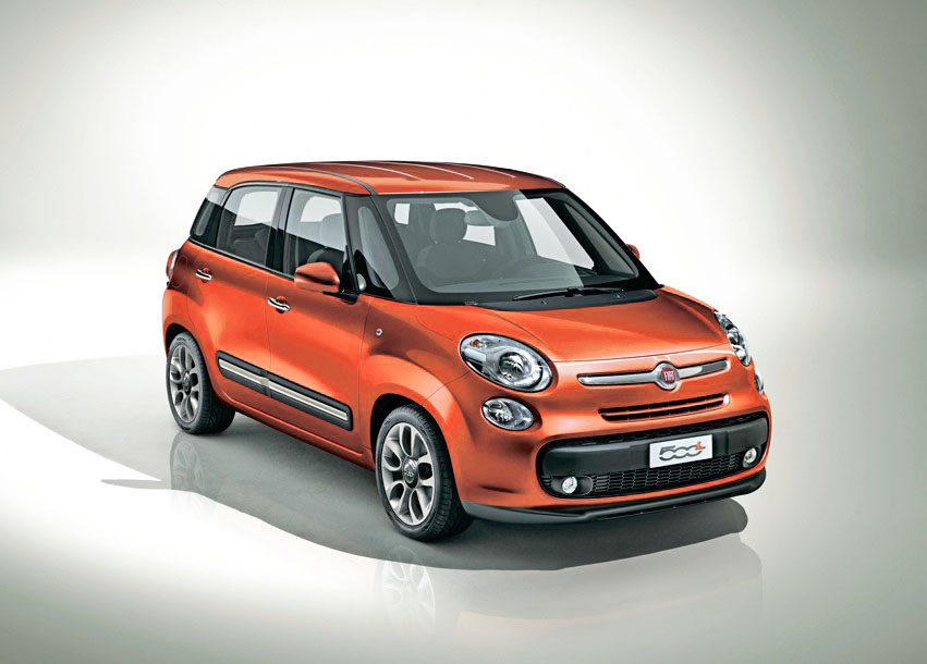 fiat 500l un monospace fa on fiat 500 actu automobile. Black Bedroom Furniture Sets. Home Design Ideas