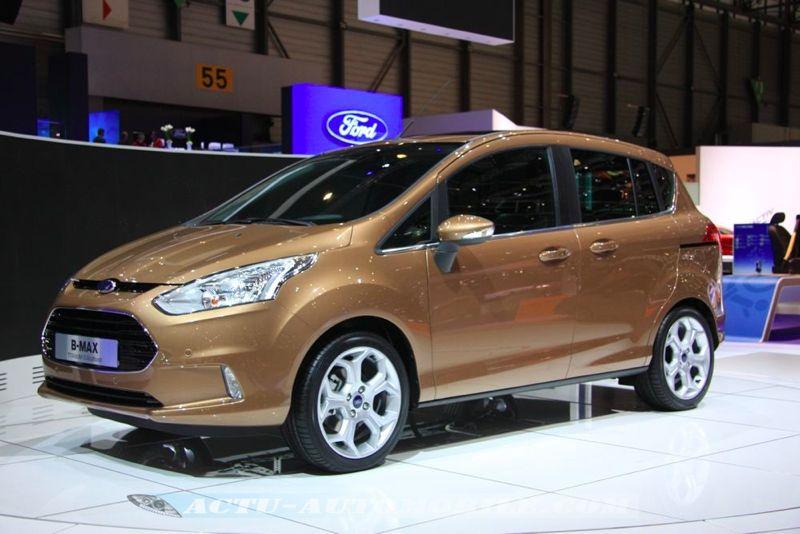 Ford B-Max au salon de Genève 2012