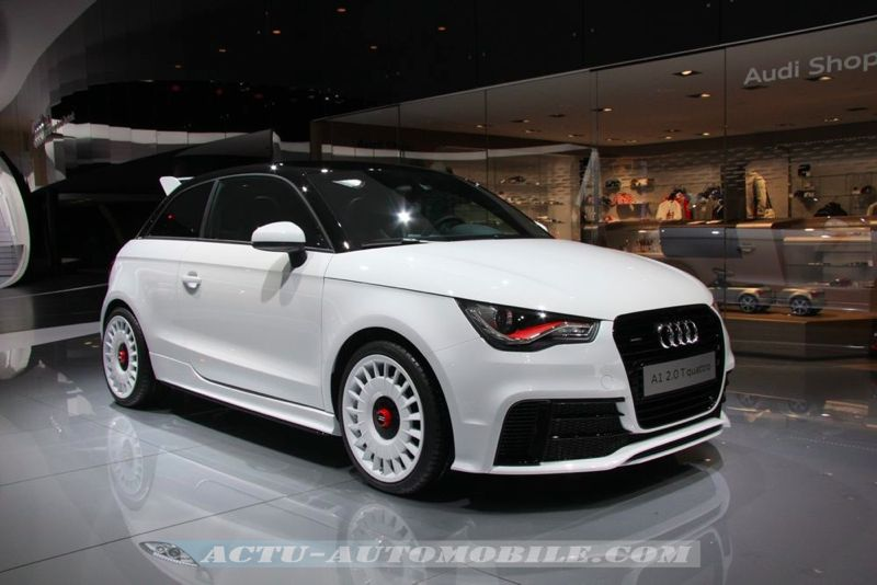 audi a1 quattro 333 exemplaires 51190 euros actu automobile. Black Bedroom Furniture Sets. Home Design Ideas