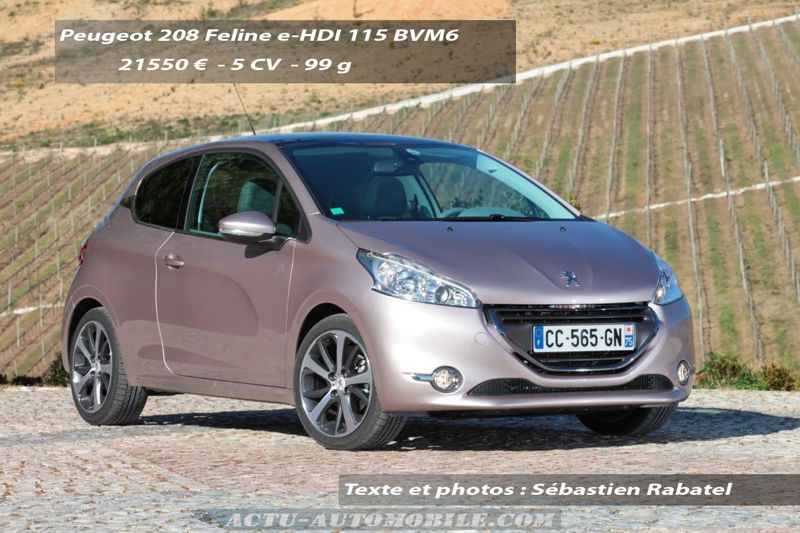 Peugeot 208 Feline e-HDI 115