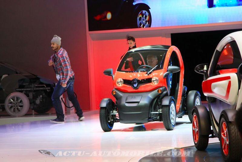 David et Cathy Guetta, égéries du Renault Twizy