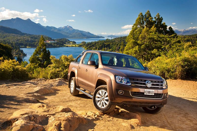 Volkswagen Amarok simple cabine