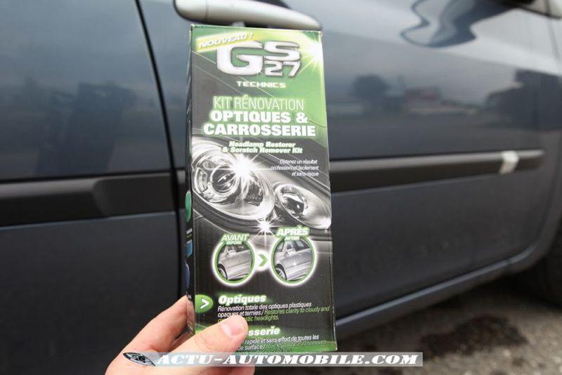 Essai GS27 Technics : kit rénovation optiques & carrosserie