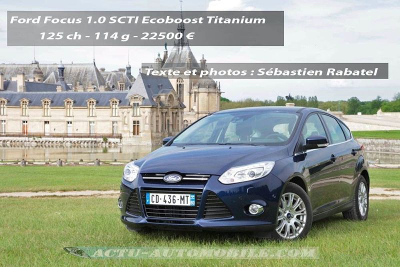 essai ford focus 1 0 ecoboost 125 ch actu automobile. Black Bedroom Furniture Sets. Home Design Ideas