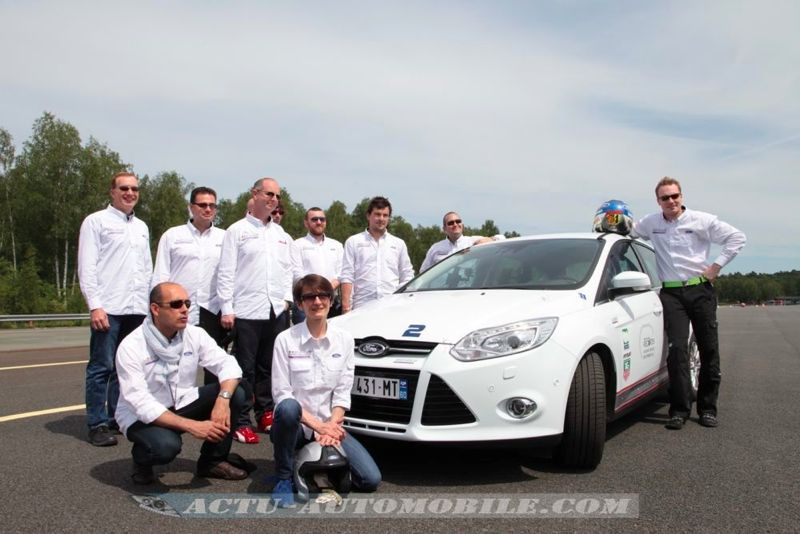 Ford Focus records du monde