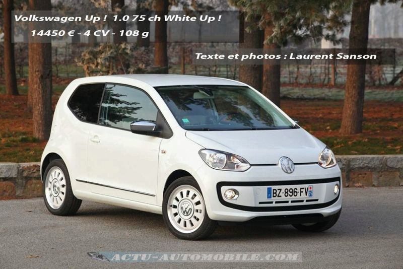 Volkswagen Up ! 1.0 75 ch White Up