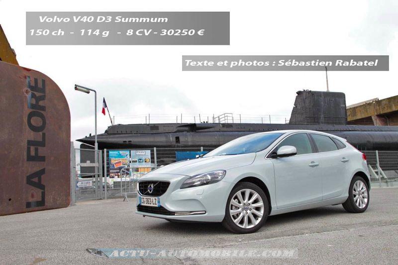 Volvo V40 Summum D3 150 BVM