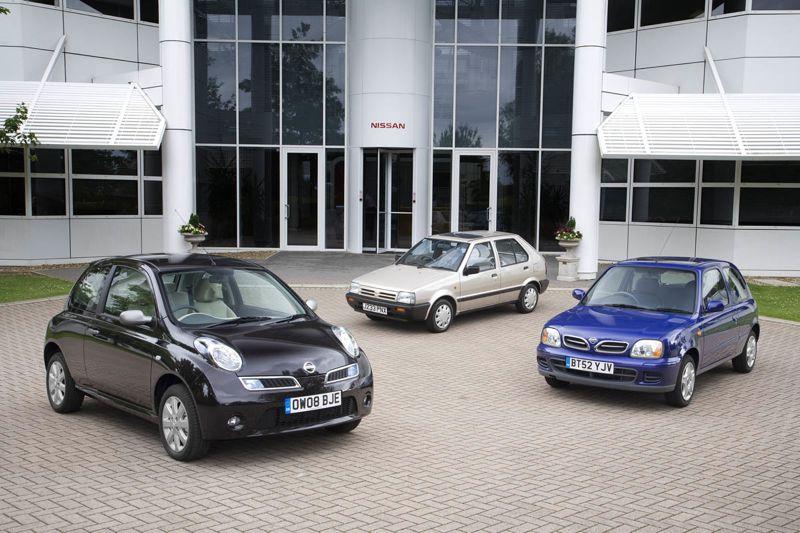 Les 30 ans de la Nissan Micra
