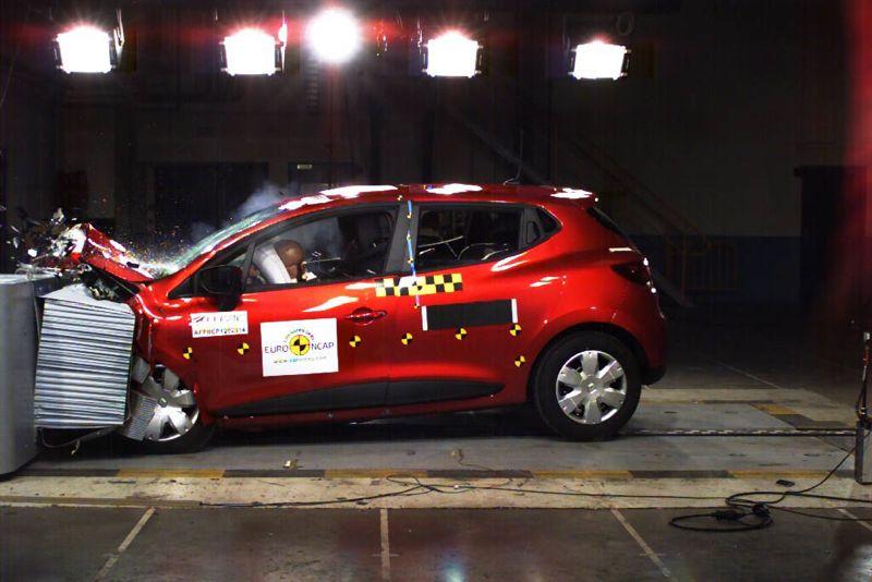 La nouvelle Renault Clio décroche les 5 étoiles EuroNCAP