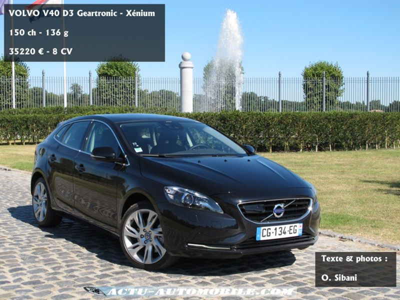 essai volvo v40 d3 geartronic x nium outsider premium actu automobile. Black Bedroom Furniture Sets. Home Design Ideas