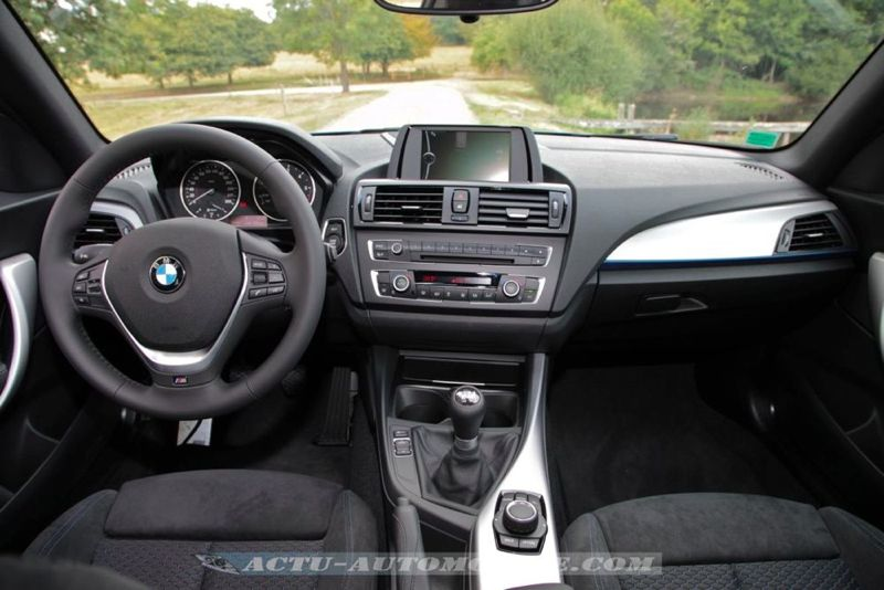 essai bmw s rie 1 m sport 3 portes 118d actu automobile. Black Bedroom Furniture Sets. Home Design Ideas