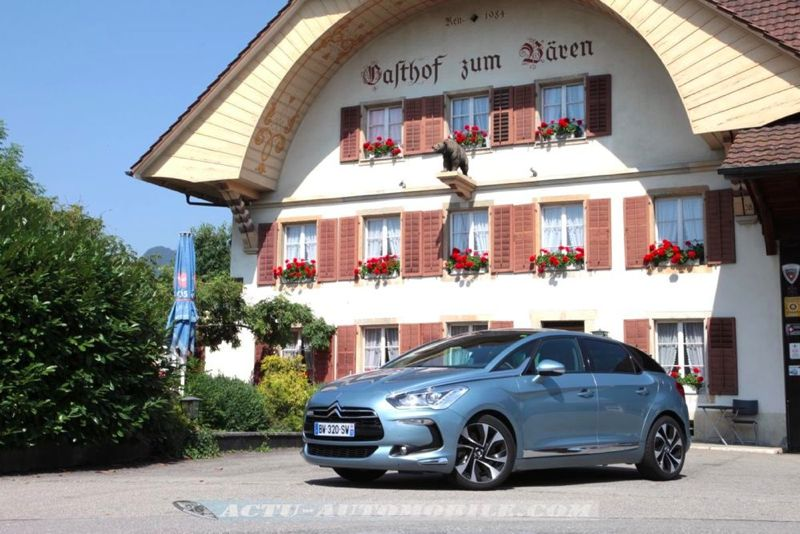 Citroën DS5 2.0 HDI 160 BVM Sport Chic