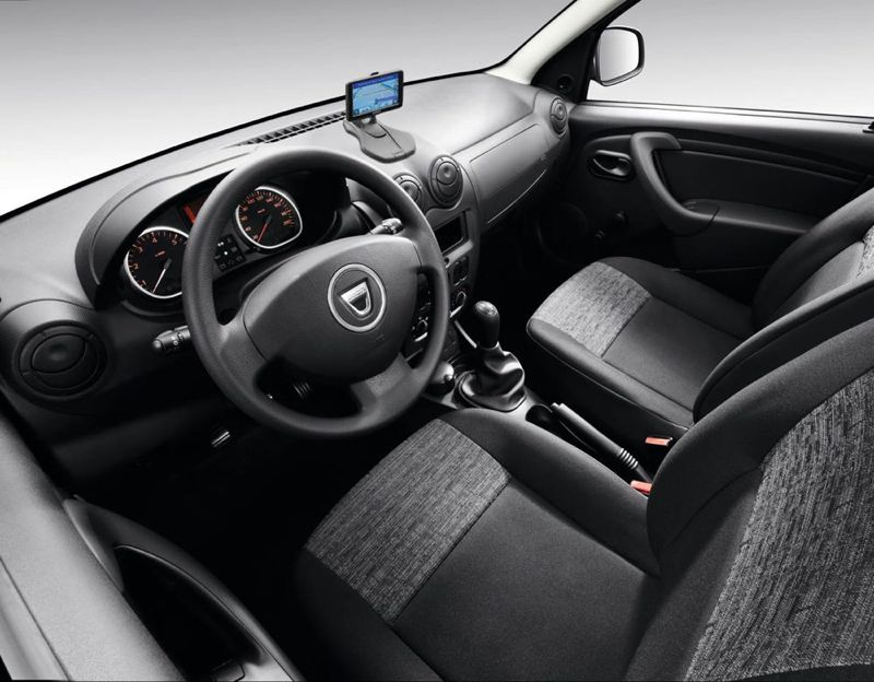 Dacia Duster Garmin