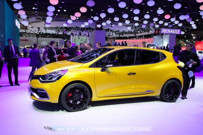 prix de la nouvelle renault clio rs 200 edc 24990 euros actu automobile. Black Bedroom Furniture Sets. Home Design Ideas
