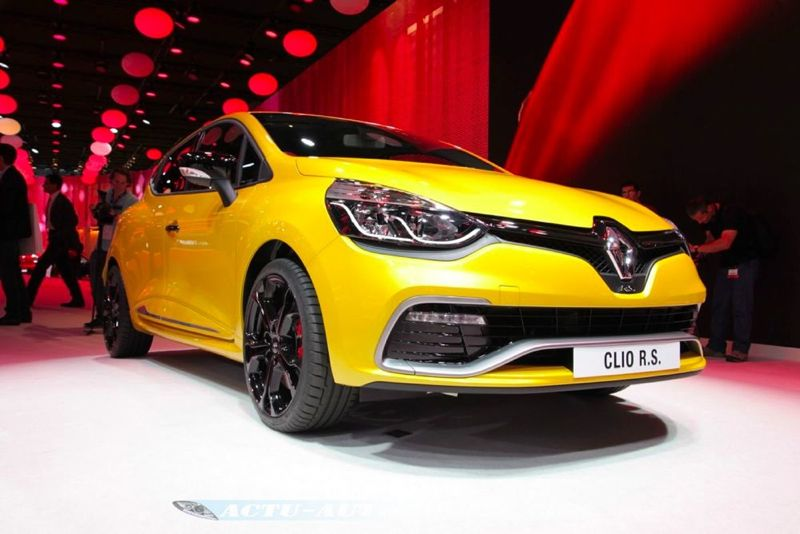 Nouvelle Clio Renault Sport 200 EDC