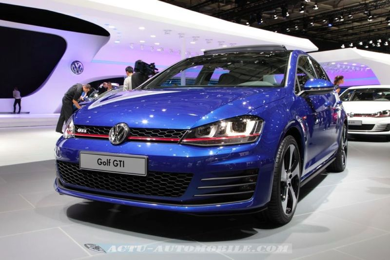 mondial de paris nouvelle volkswagen golf gti actu automobile. Black Bedroom Furniture Sets. Home Design Ideas