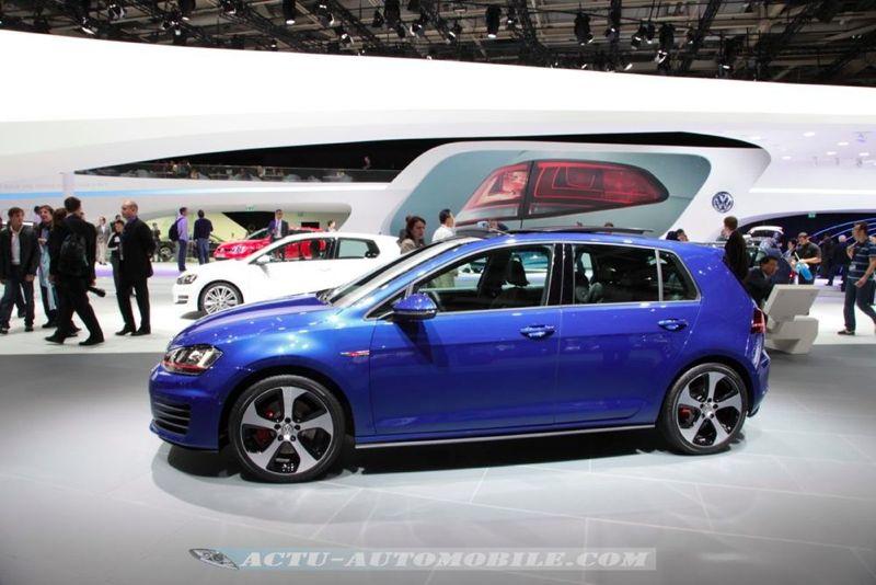 nouvelle Volkswagen Golf GTI