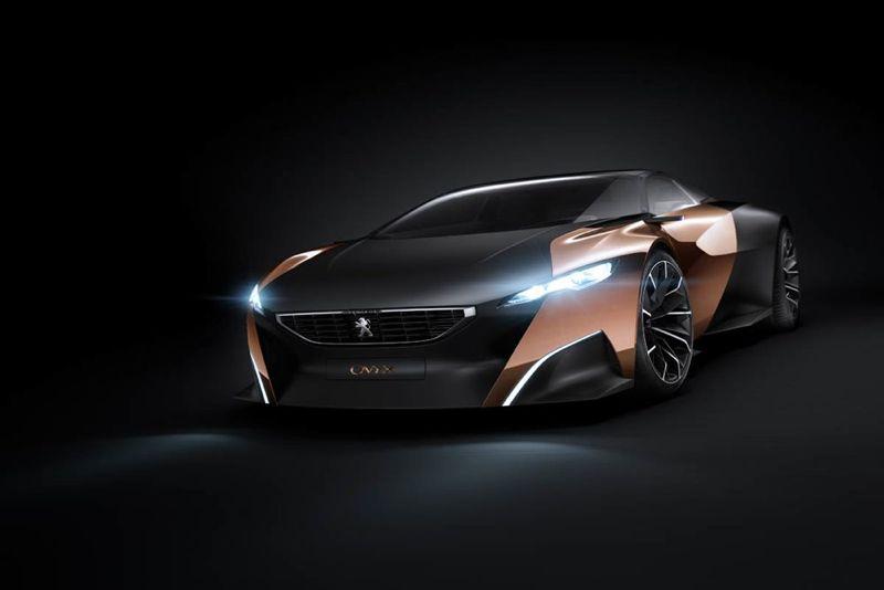 Mondial de Paris 2012 : Concept car Peugeot Onyx