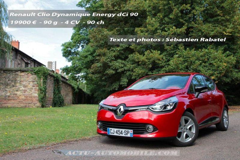 nouvelle Renault Clio Dynamique