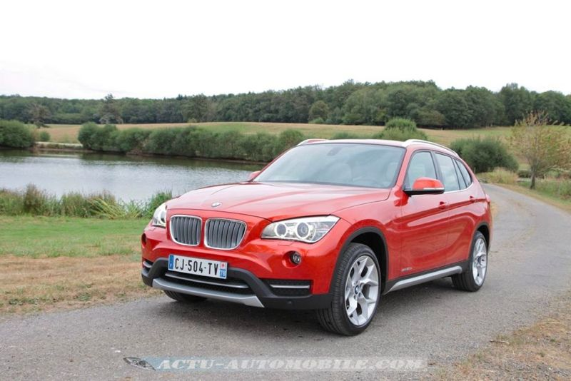 essai bmw x1 sdrive 20d x line conclusion galerie photos actu automobile. Black Bedroom Furniture Sets. Home Design Ideas