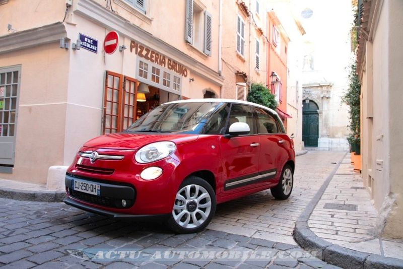 essai fiat 500l 1 3 multijet 85 conclusion photos actu automobile. Black Bedroom Furniture Sets. Home Design Ideas