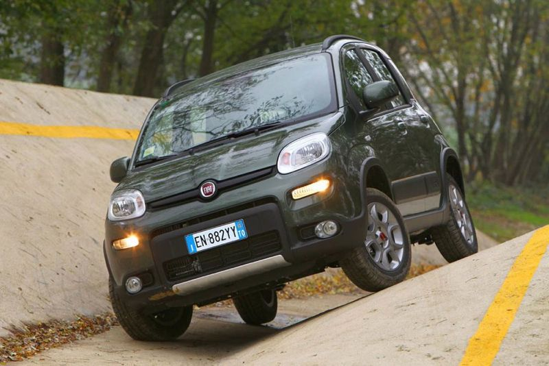 fiat panda 4x4 et panda trekking les prix actu automobile. Black Bedroom Furniture Sets. Home Design Ideas