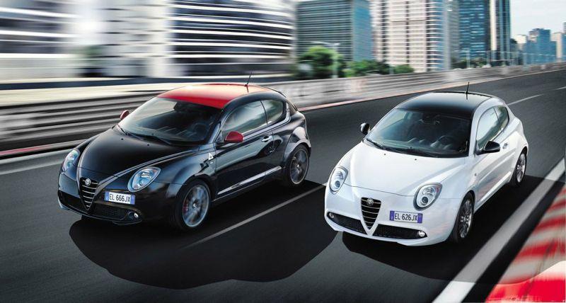 Alfa Romeo MiTo SBK et Quadrifoglio Verde SBK Limited Edition